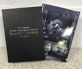 The Companion & Other Phantasmagorical Stories [hardcover] by Ramsey Campbell
